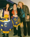 Joe Condor, Marian Scripper '74, Nadine Hoyt '75 and Julie Tonkovich '75 - photo by Mark Lassiter.